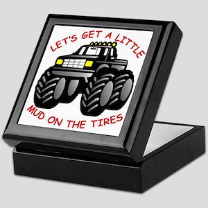 Mud On The Tires #0011 Keepsake Box