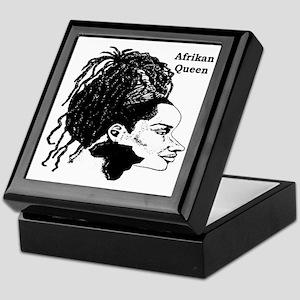 Afrikan Queen Keepsake Box
