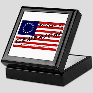 Generica USA Keepsake Box