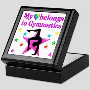 GYMNAST GIRL Keepsake Box