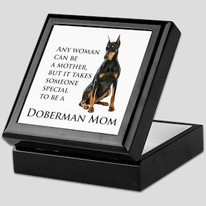 Doberman Mom Keepsake Box