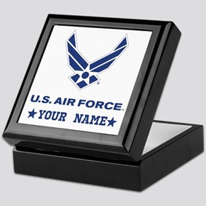 U.S. Air Force Personalized Gift Keepsake Box