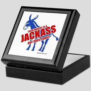 Jackass, any questions? - Keepsake Box