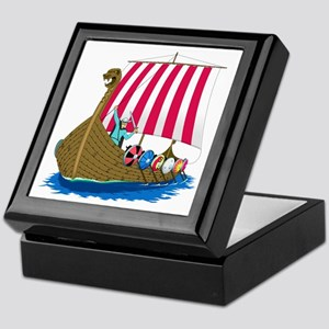 Viking Ship Keepsake Box