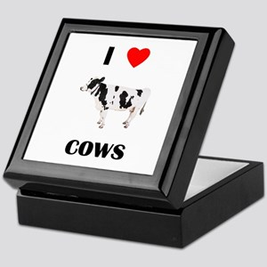 I love cows Keepsake Box
