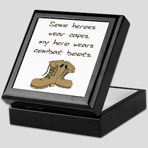 Some Heroes Wear Capes Keepsake Box