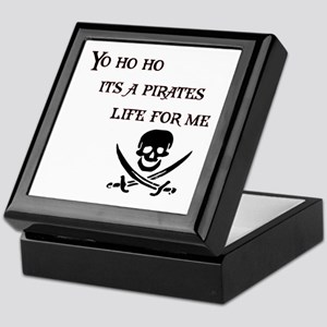 Yo Ho Ho Keepsake Box
