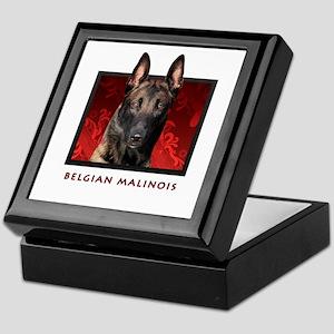 Belgian Malinois Keepsake Box