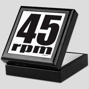 45 RPM Keepsake Box