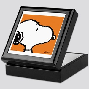 Fresh Orange Snoopy Keepsake Box