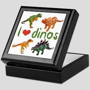I Love Dinos Keepsake Box