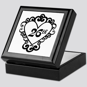 26th Anniversary Love Gift Keepsake Box