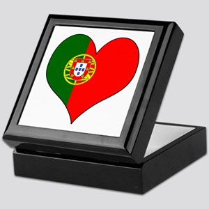 Portugal Heart Keepsake Box