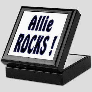 Allie Rocks ! Keepsake Box
