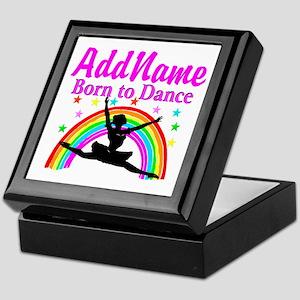 BORN DANCING Keepsake Box