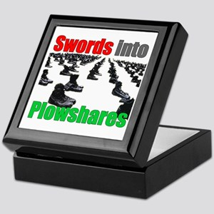 Swords into Plowshares Keepsake Box