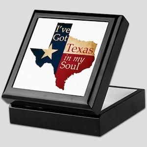 Texas in my Soul Keepsake Box