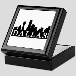 Dallas Skyline Keepsake Box