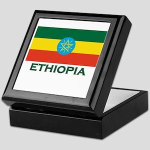Ethiopia Flag Merchandise Keepsake Box