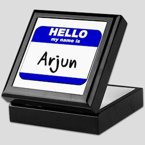hello my name is arjun Keepsake Box