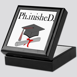 Ph.inisheD. Keepsake Box