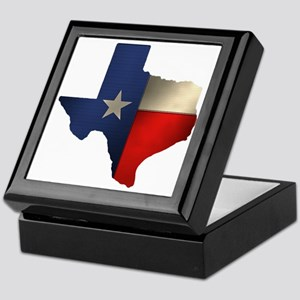 State of Texas Keepsake Box