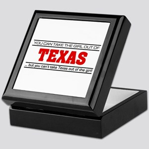 'Girl From Texas' Keepsake Box