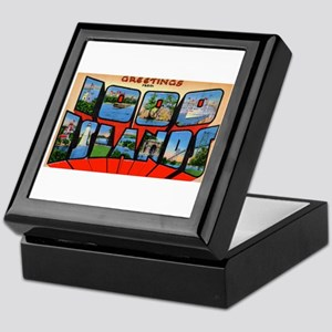 1000 Islands New York Keepsake Box