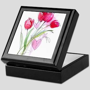 Tulip2 Keepsake Box