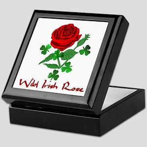 Wild Irish Rose Keepsake Box