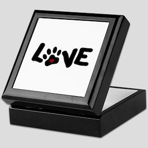 Love (Pets) Keepsake Box