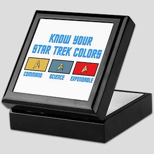 ST: Colors Keepsake Box