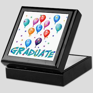 Graduation Balloons Keepsake Box
