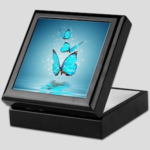 Magic Butterflies Keepsake Box