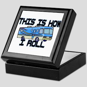 How I Roll RV Keepsake Box