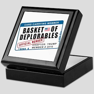 Basket of Deplorables Keepsake Box
