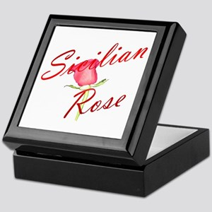 Sicilian Rose Keepsake Box
