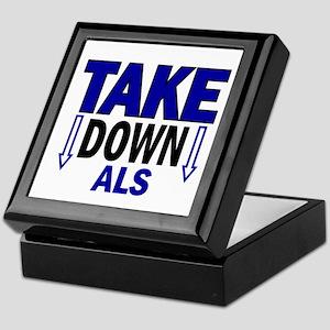 Take Down ALS 1 Keepsake Box