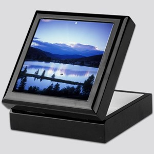 Mountain Lake Keepsake Box