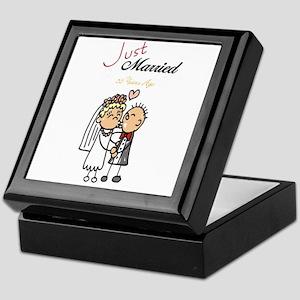 Just Married 50 years ago Keepsake Box