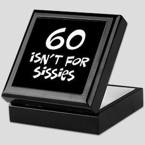 60th birthday sissy Keepsake Box