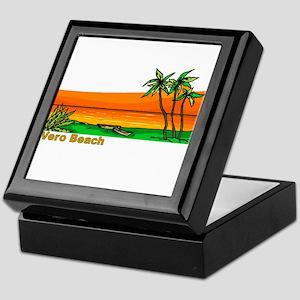 Vero Beach, Florida Keepsake Box