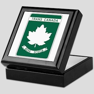 Trans-Canada Highway, Nova Scotia Keepsake Box