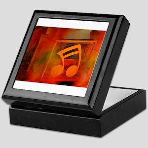 Music note Keepsake Box