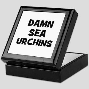 Damn Sea Urchins Keepsake Box