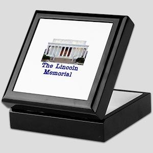 The Lincoln Memorial Keepsake Box