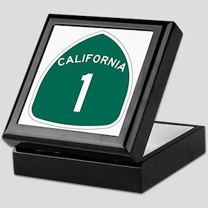 State Route 1, California Keepsake Box