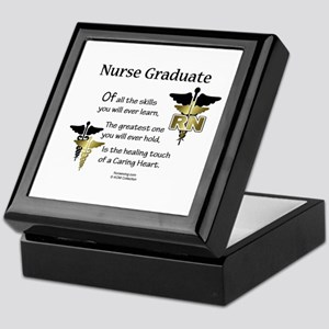 RN Nurse Graduate Keepsake Box CD