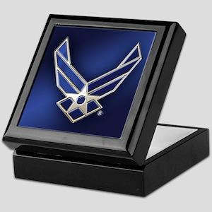 U.S. Air Force Logo Detailed Keepsake Box