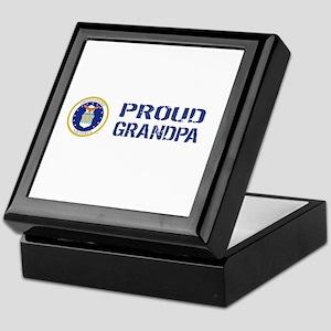 USAF: Proud Grandpa Keepsake Box